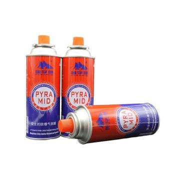 400ml portable camping butane gas canister manufacturing for portable stove