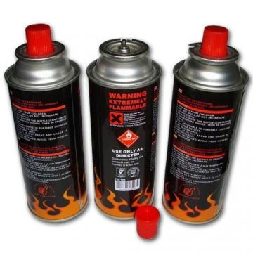190g 220g 250g Aerosol Can Empty Camping Refill Butane Gas Cartridge Canister