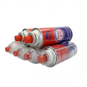 400ml 227g portable camping Cassette Butane Gas Cylinde made in china