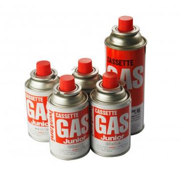 Low pressure butane gas cartridge 3kg portable camping gas bottle with CRV