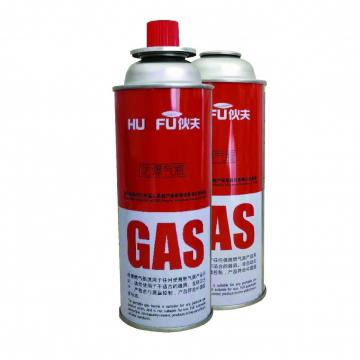 Camping Butane Gas Cylinder 190g for barbecue in the wild