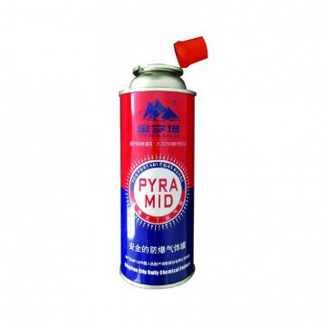 Mini Portable butane gas cylinder canister butane gas 300ml